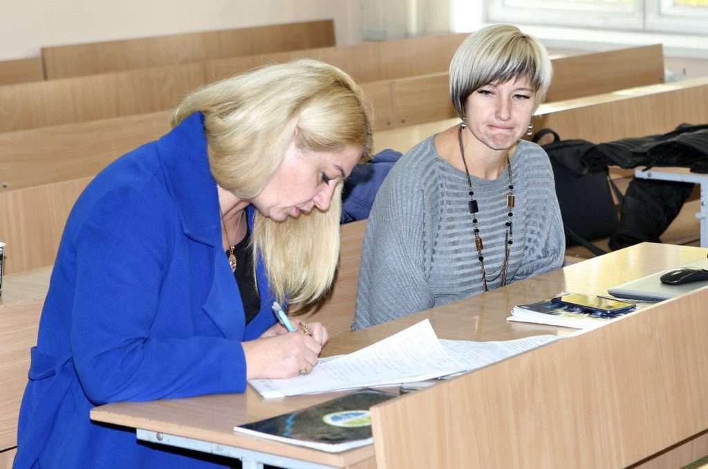 Студенти на лекції