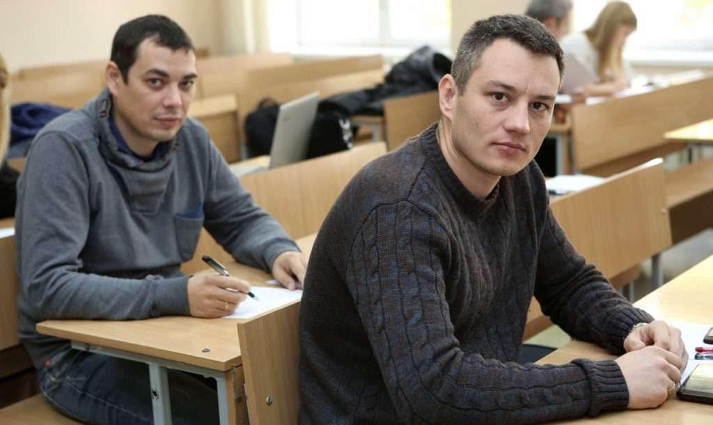 Студенти на курсах поліграфологів в Києві