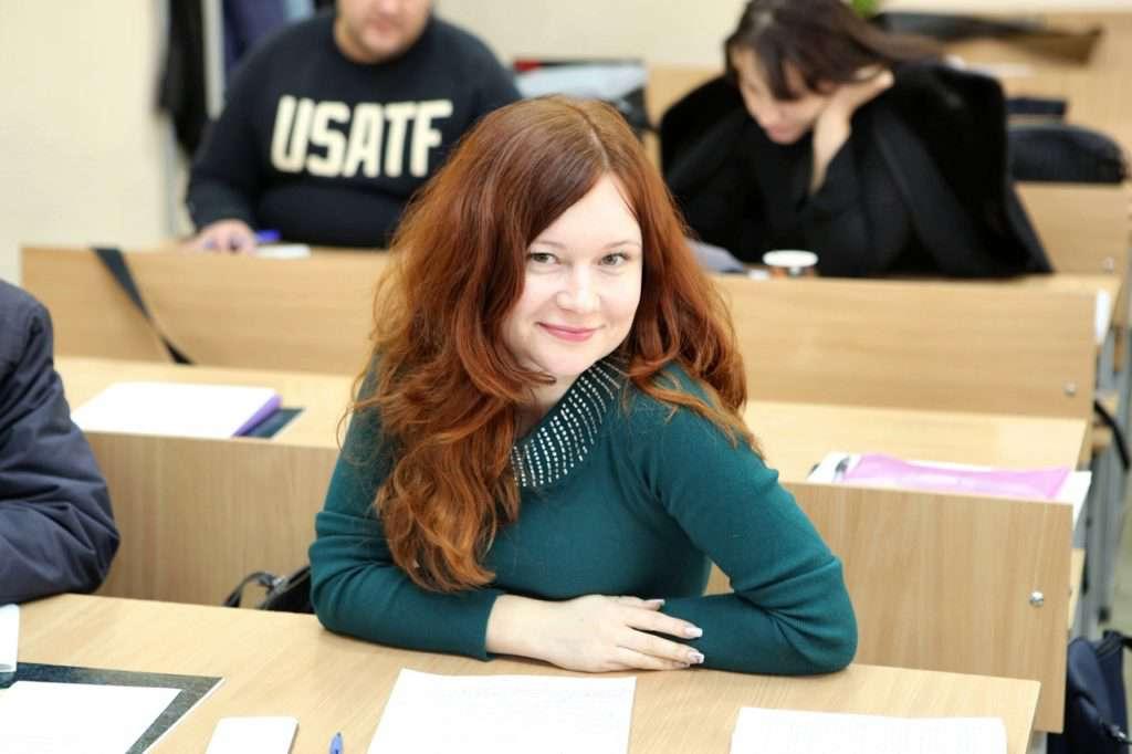Студентка проходить навчання в ВАП