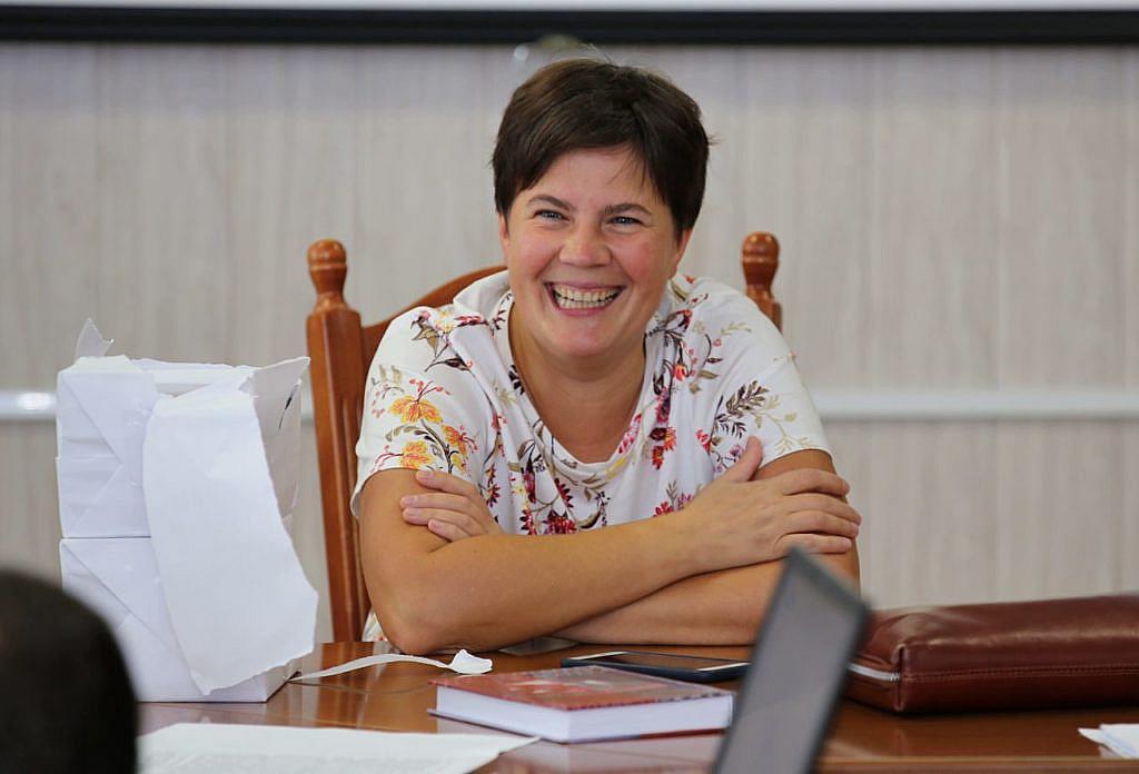 Президент Всеукраїнської асоціації поліграфологів Морозова Тетяна Романівна