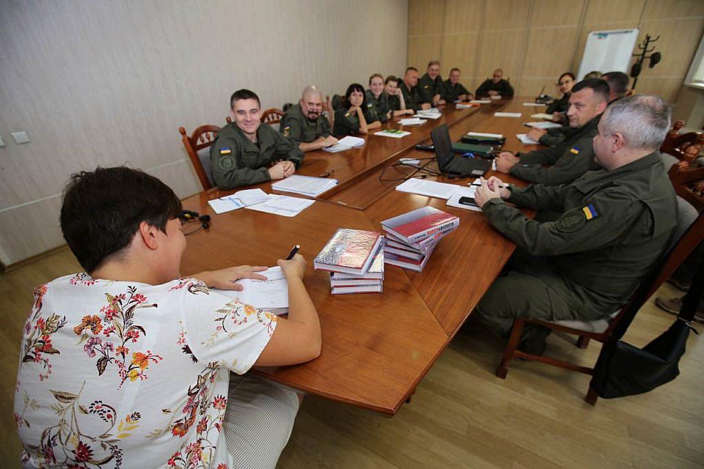 Зустріч Президента ВАП Морозової Т.Р. з поліграфологами Національної гвардії України