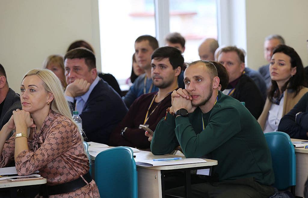 Учасники П'ятої науково-практичної конференції поліграфологів