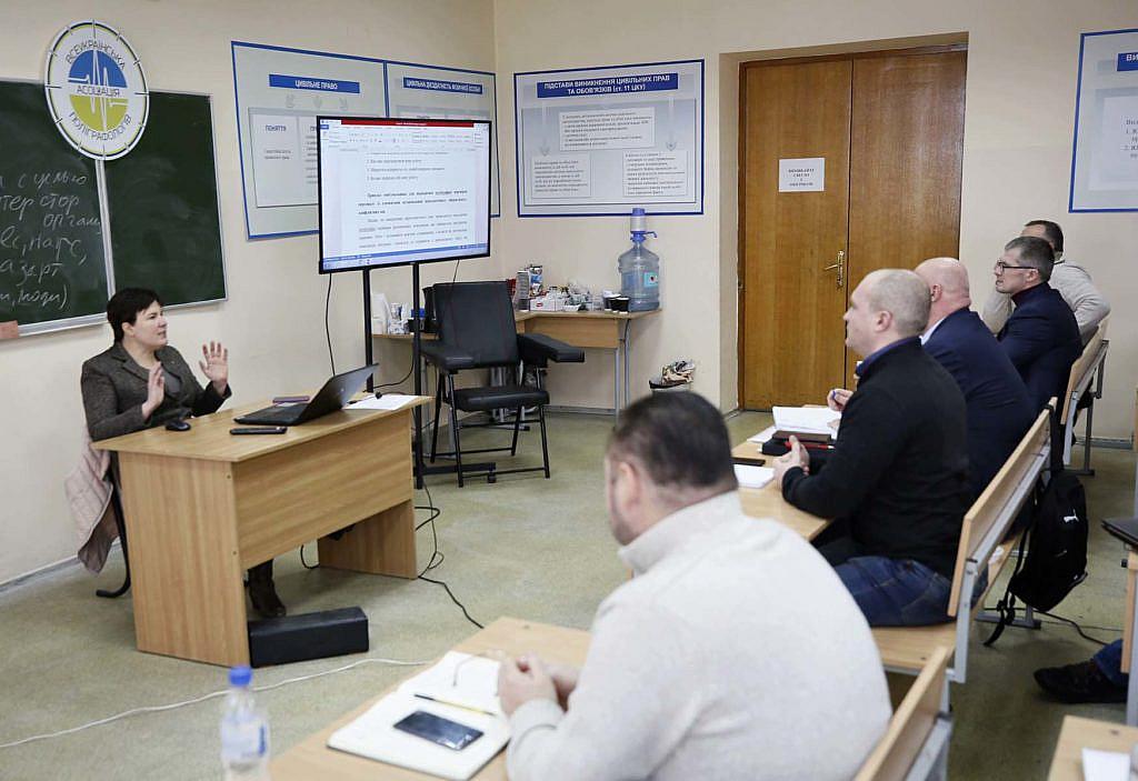Морозова Тетяна Романівна навчає майбутніх поліграфологів