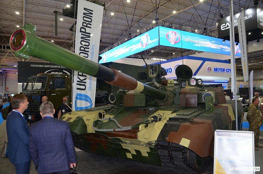 Танк від UkrOboronProm на виставці Зброя та безпека 2021