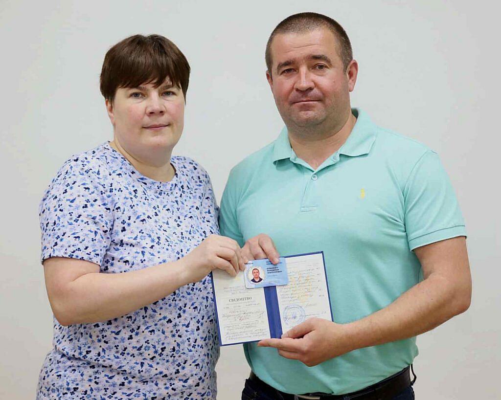 Президент ВАП Морозова Тетяна Романівна та Коваленко Володимир Анатолійович