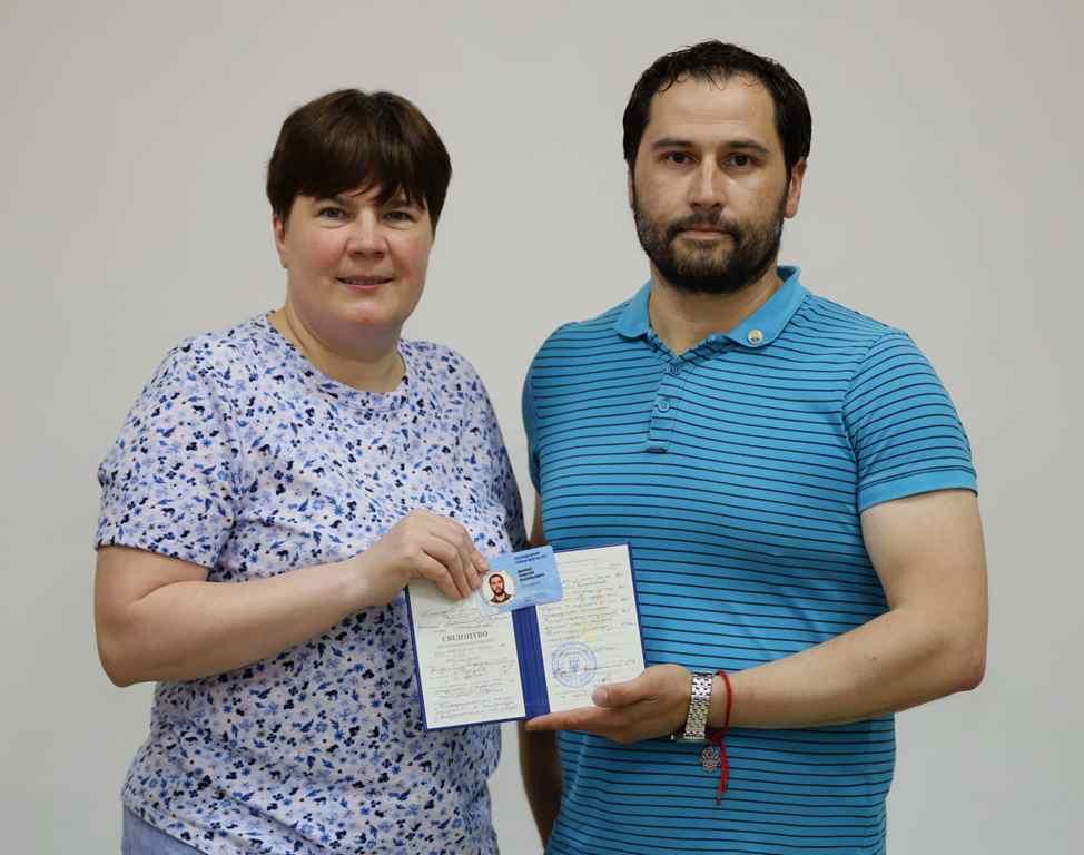 Президент ВАП Морозова Тетяна Романівна та Дашко Олексій Васильович